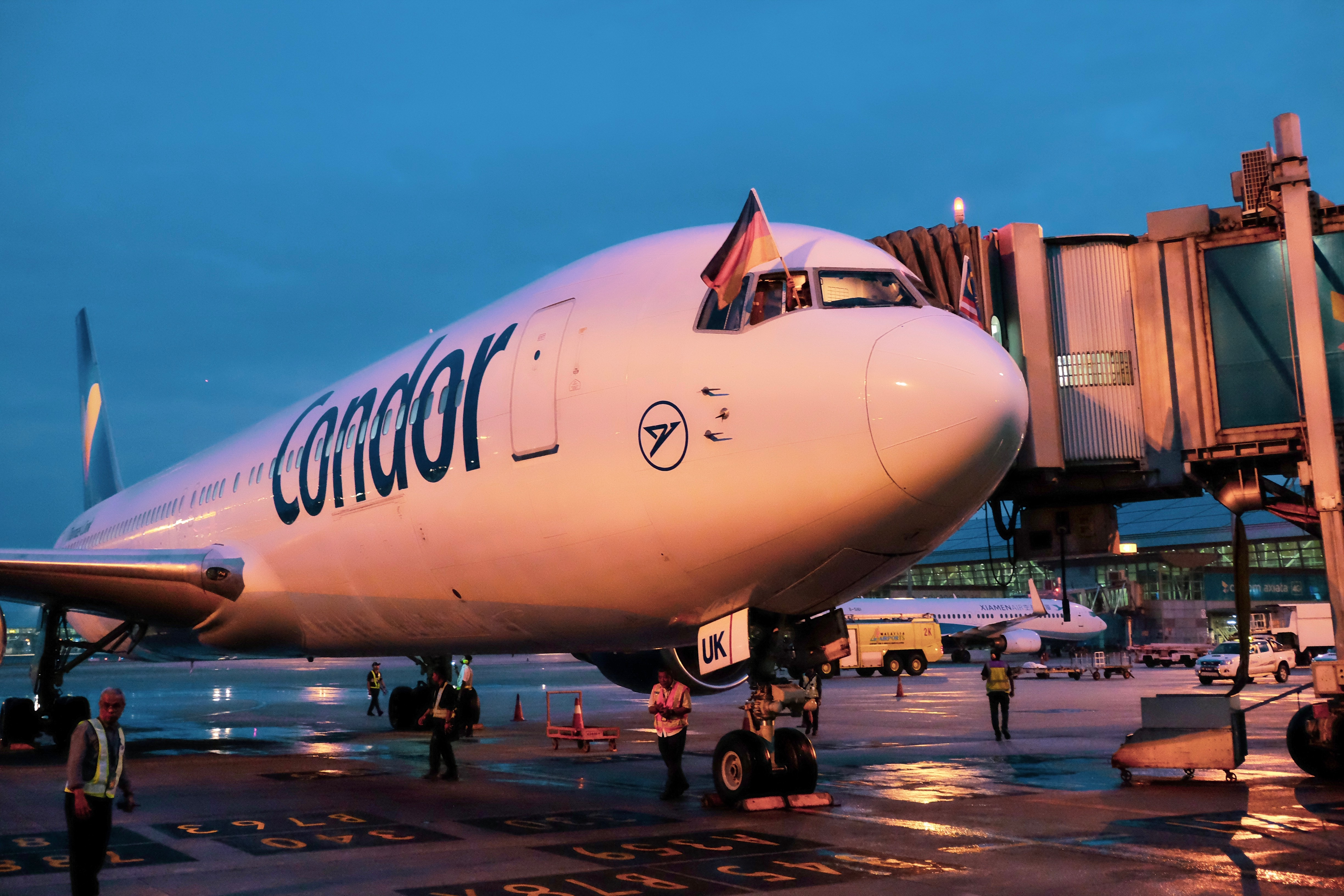 KL International Airport Welcomes Condor Airlines