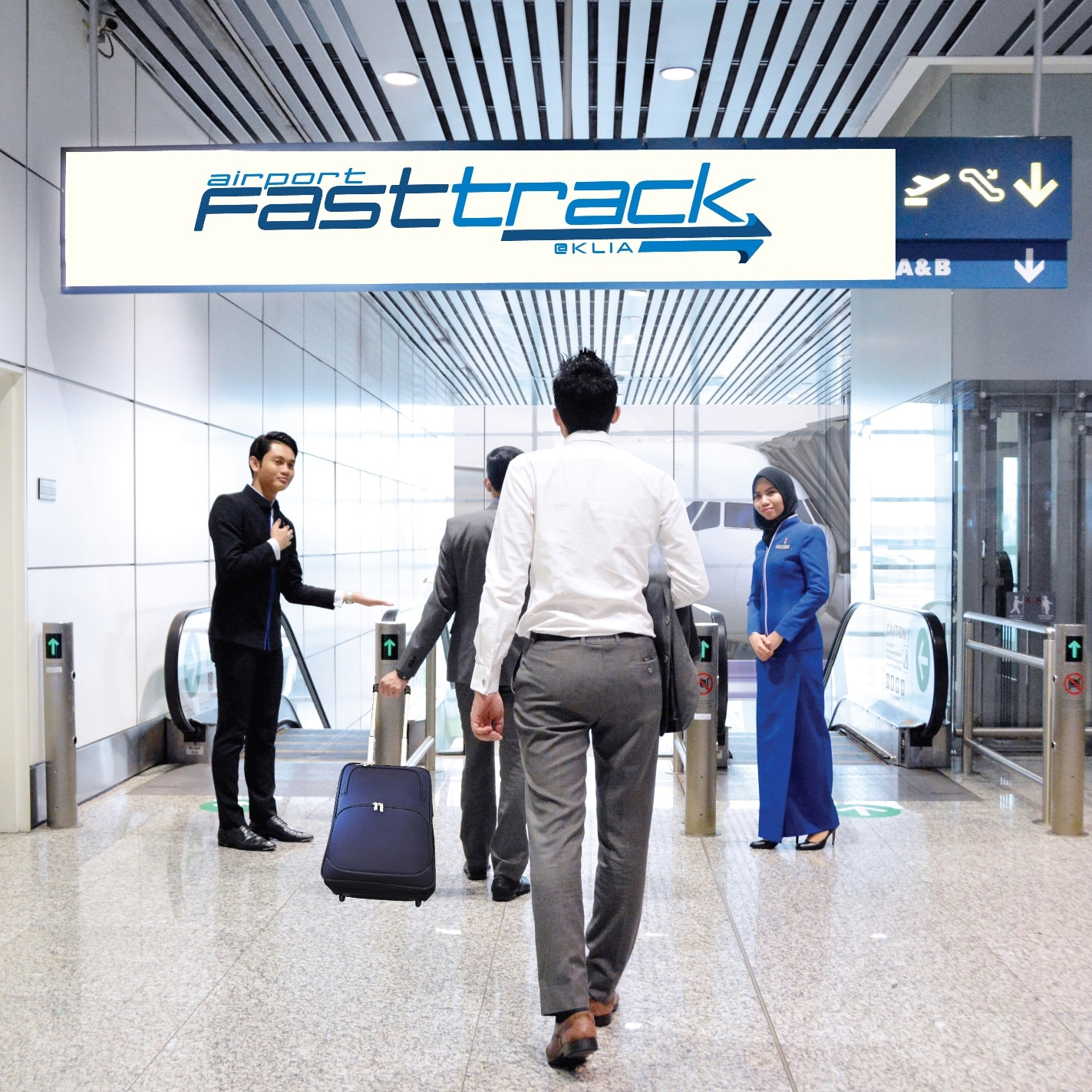 Breeze through airport security with Airport FastTrack@KLIA