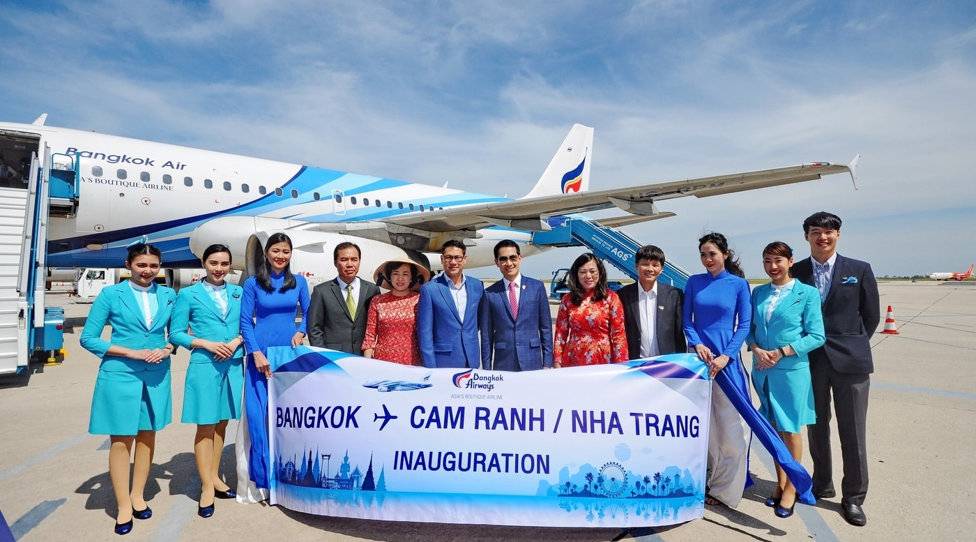 Bangkok Airways pioneers direct service from Bangkok to Cam Ranh, Vietnam