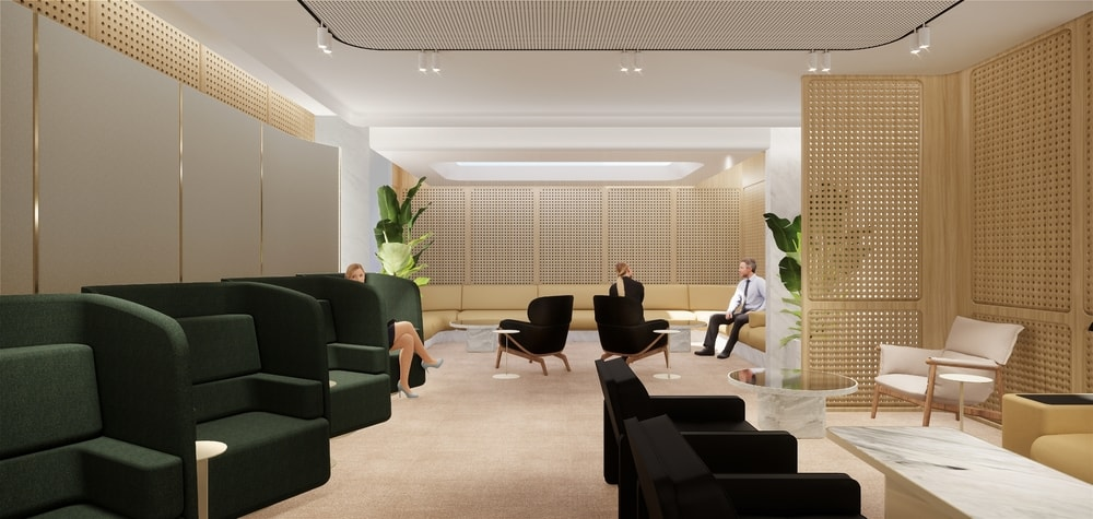 Qantas Uses VR In Design Of First Class Lounge At Changi