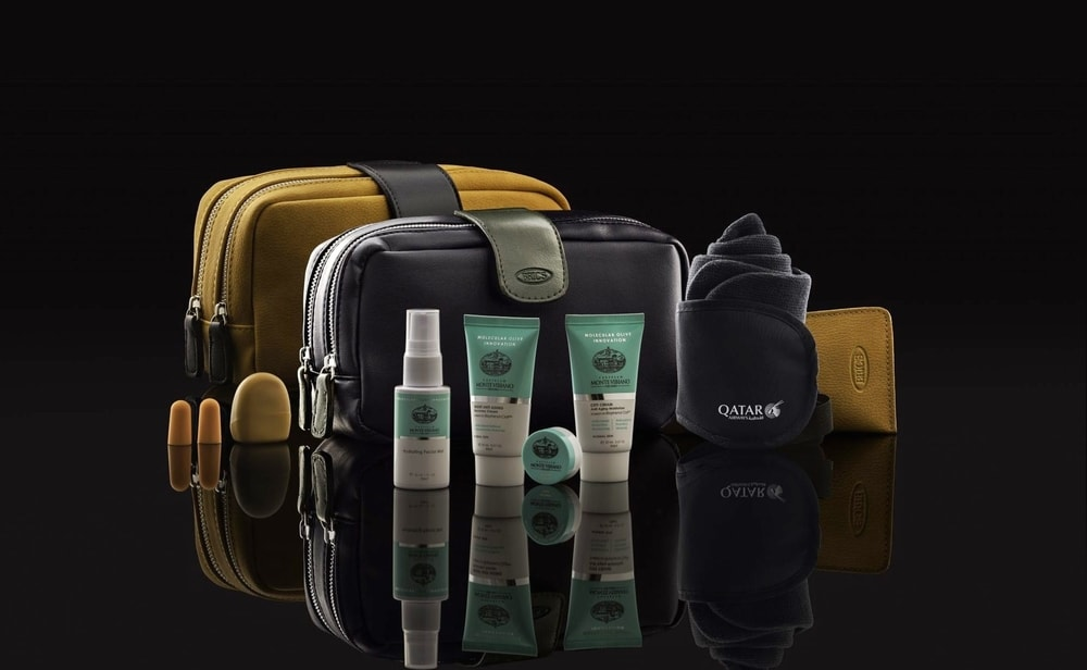 Qatar Airways Launches Cool New BRIC's Amenity Kits Collection
