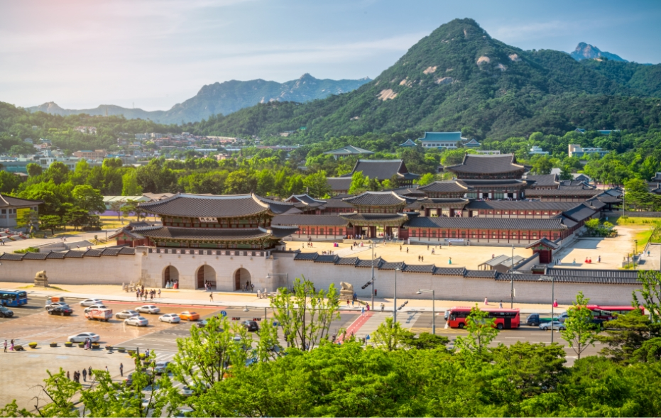 Gyeongbok Palace is one of the iconic sights in all of Korea