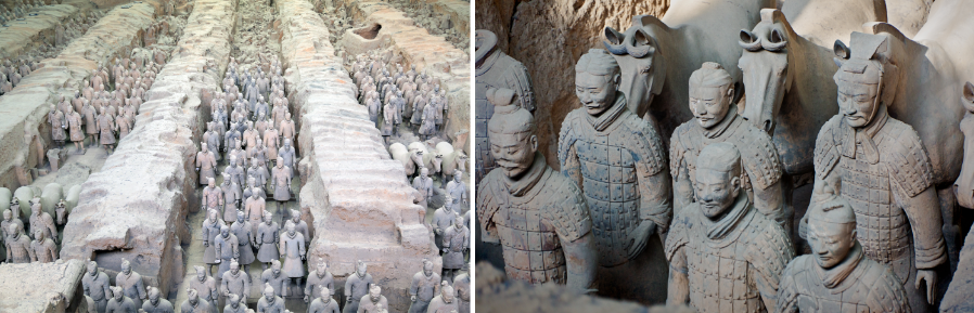 Terracotta Army and Horses of Emperor Qin Shi Huang