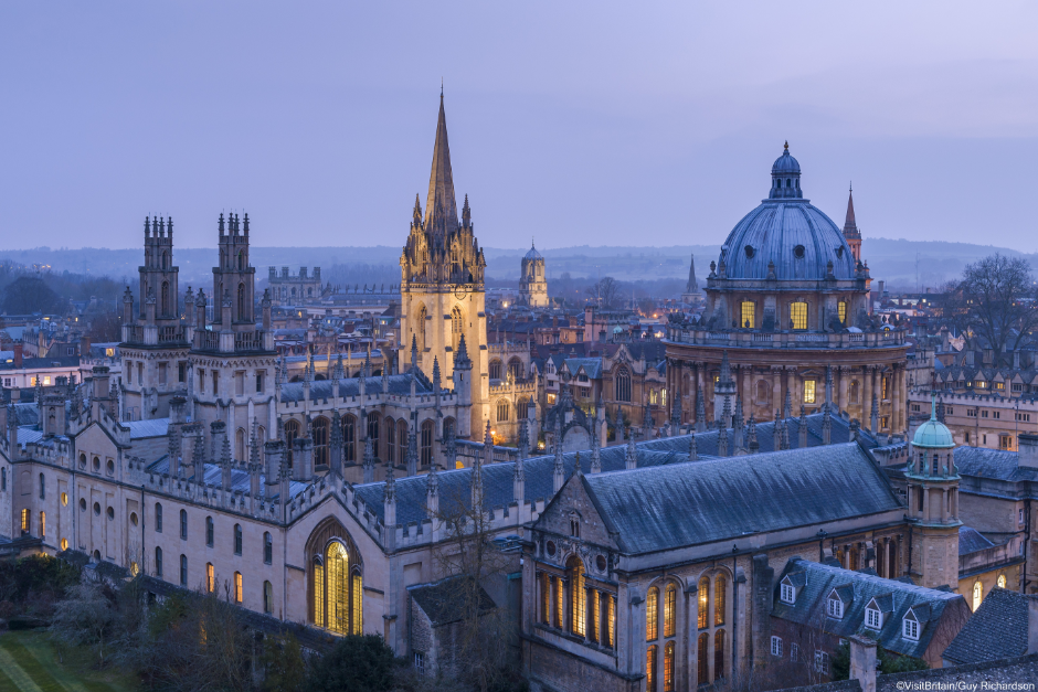 Oxford University (Photo : ©VisitBritain/Guy Richardson)