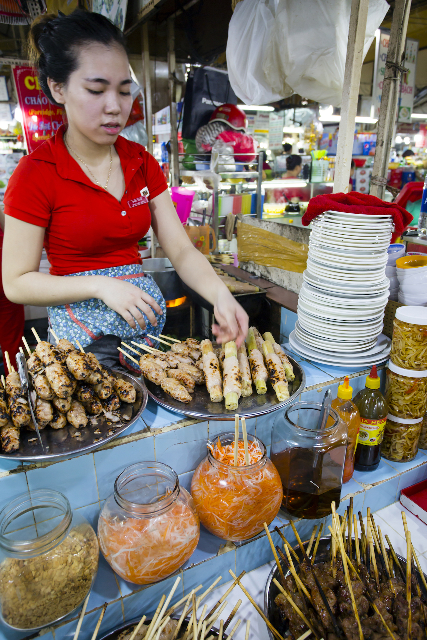No shortage of local street food in Ho Chi Minh City