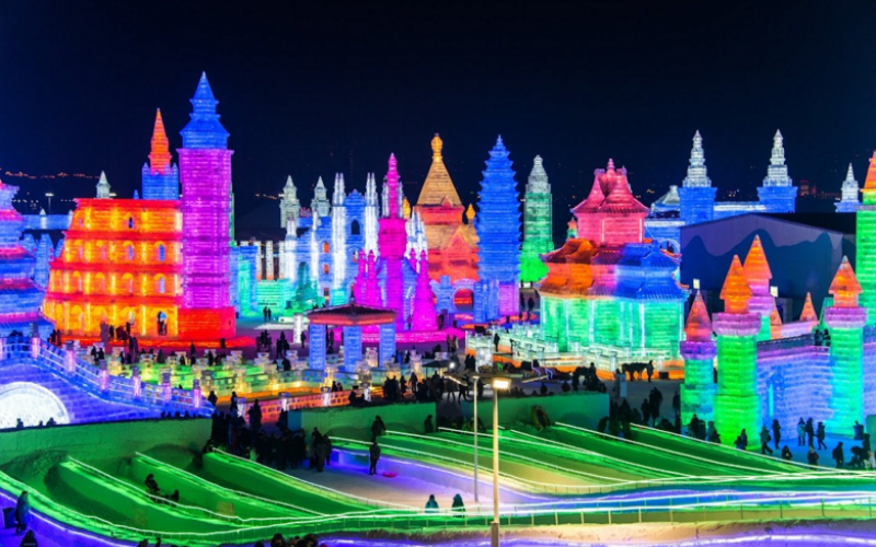 Harbin International Ice Festival China 2020