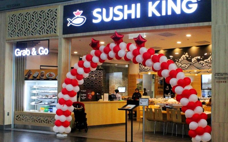 Sushi King is now open at gateway@klia2