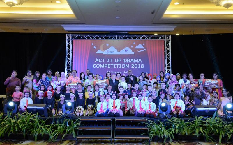 Enhancing English Literacy Through Malaysia Airports' Beyond Borders 'Act It Up' Drama Competition