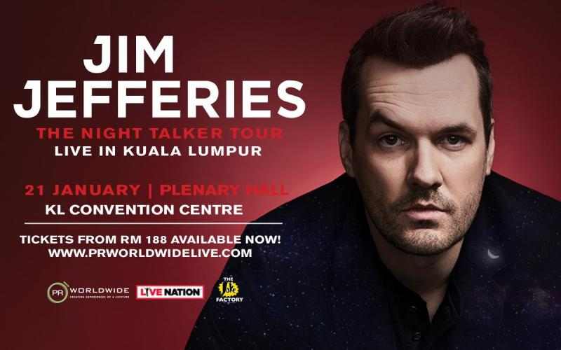 Jim Jeffries: The Night Talker Tour