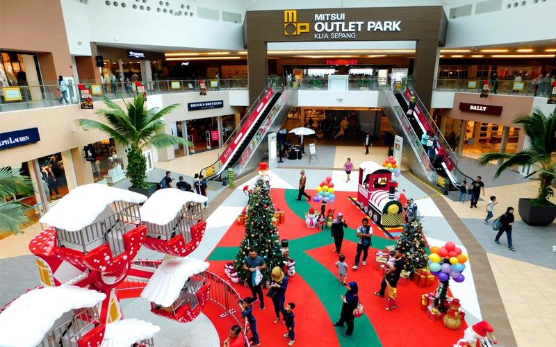 Nutcracker Magic Envelops Mitsui Outlet Park KLIA Sepang