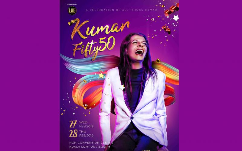 Kumar Fifty: 50 Nationwide Tour