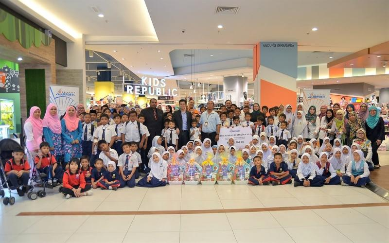 2020 school session prep gets underway with Malaysia Airports' 'Ceria Kembali Ke Sekolah' programme