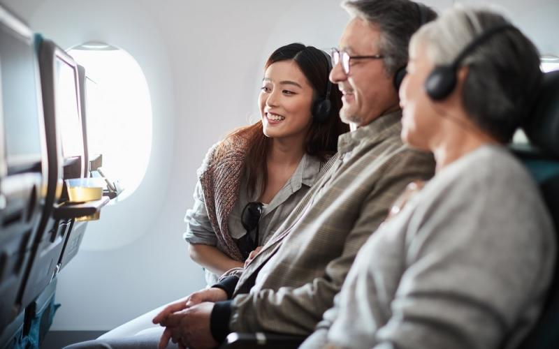 More inflight entertainment onboard Cathay Pacific