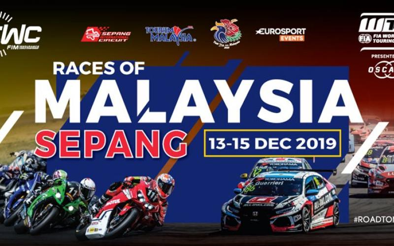 Races of Malaysia Sepang: FIM Endurance World Championship & FIA World Touring Car Cup