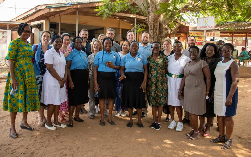 British Airways support mothers2mothers Ghana