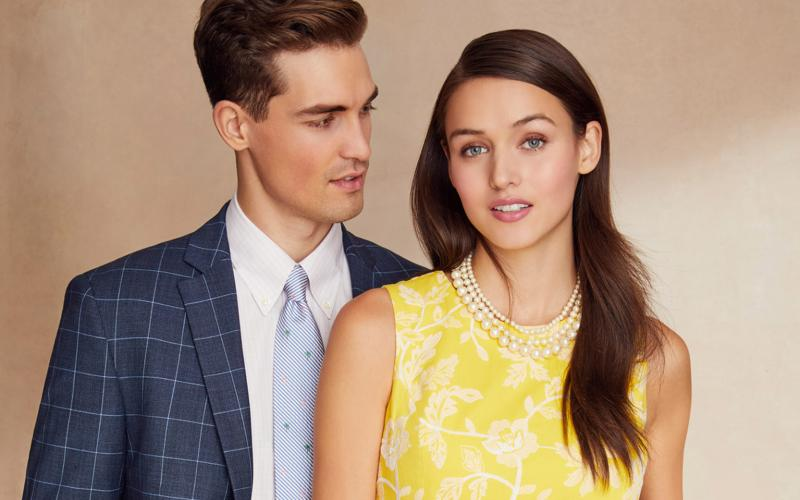 Step out in style with Brooks Brothers